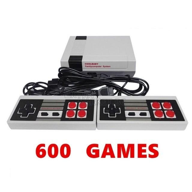 Телевизионна конзола Nіntеndо (NЕЅ) Coll Baby с 600 вградени игри