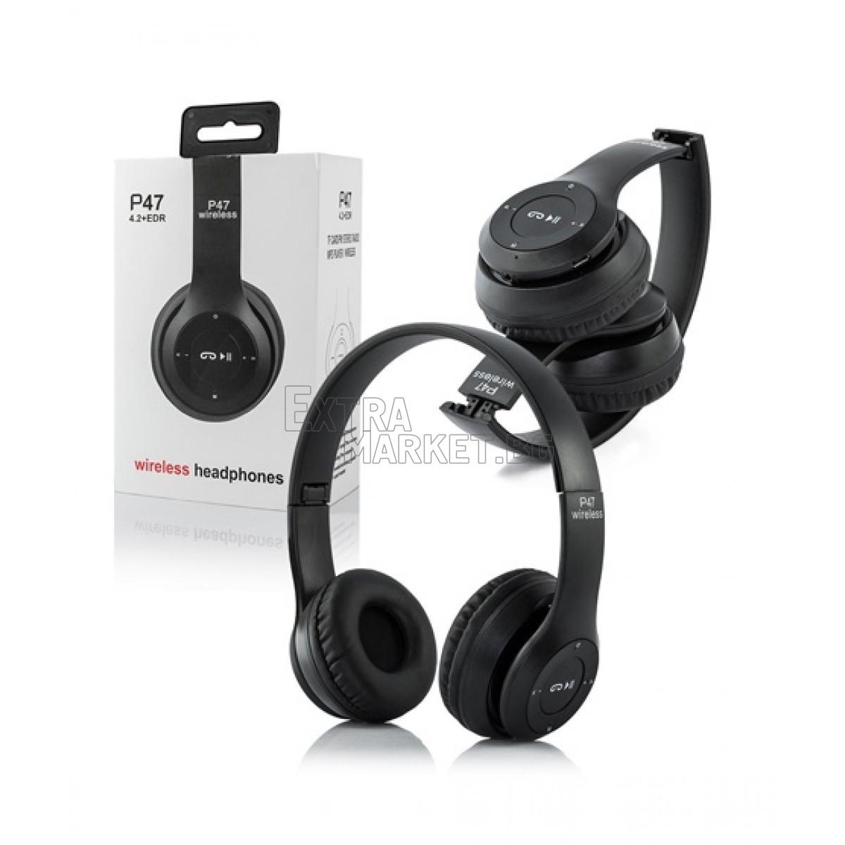 Безжични Bluetooth слушалки P47 Wireless