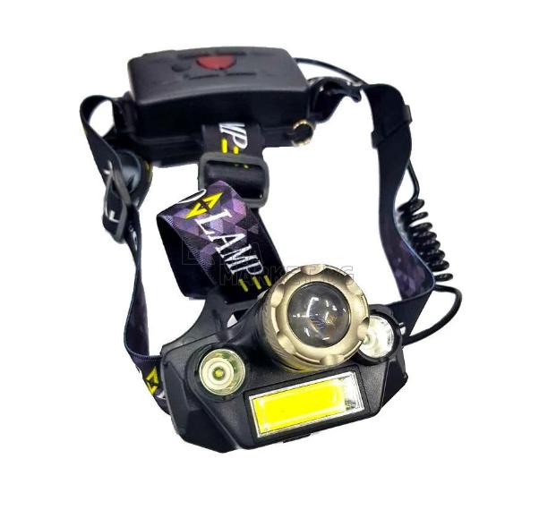 Челник X-BALOG с 1 брой XM-L2 T6 (2 броя Q5 и COB LED диоди) и ZOOM