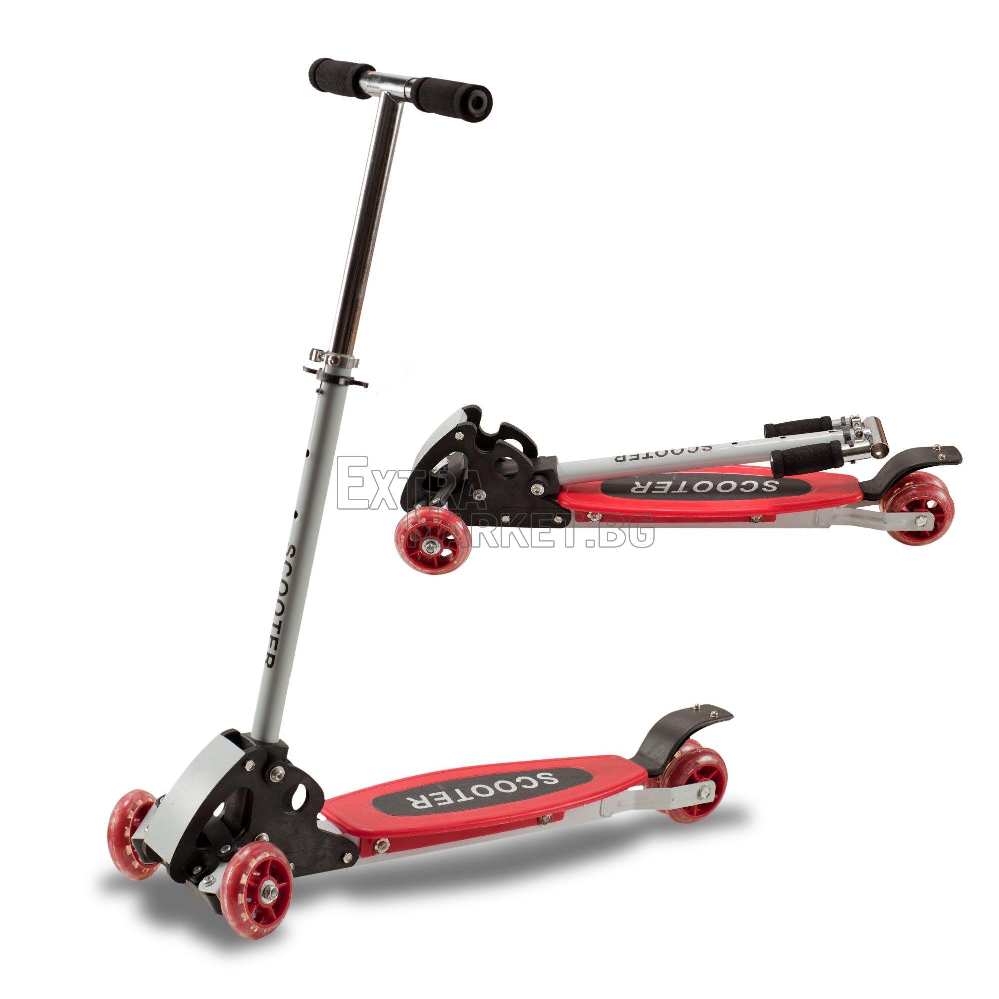 Scooter Тротинетка с 4 колела