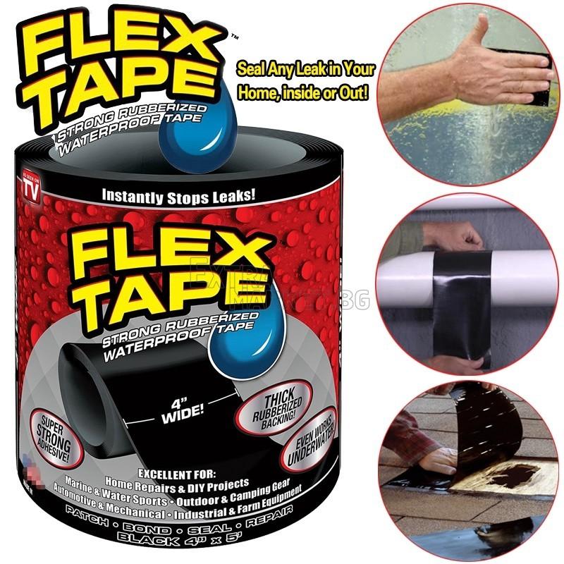Гумирано водоустойчиво тиксо Flex Tape