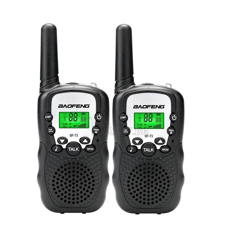 Две радиостанции комплект BAOFENG BF-T3