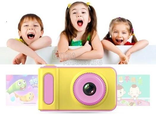 Цифров фотоапарат за деца Kids Camera Summer Vacation