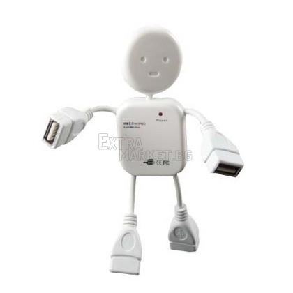 USB разклонител (Хъб) за лаптоп или компютър 1 към 4