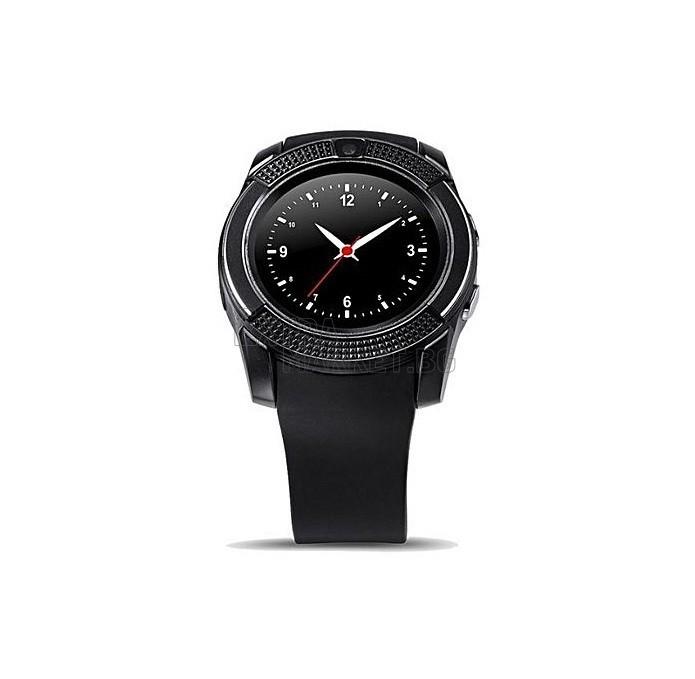 Кръгъл смарт часовник с камера V08