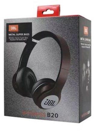 Слушалки JBL (by Harman) Metal Super Bass B20 Bluetooth stereo