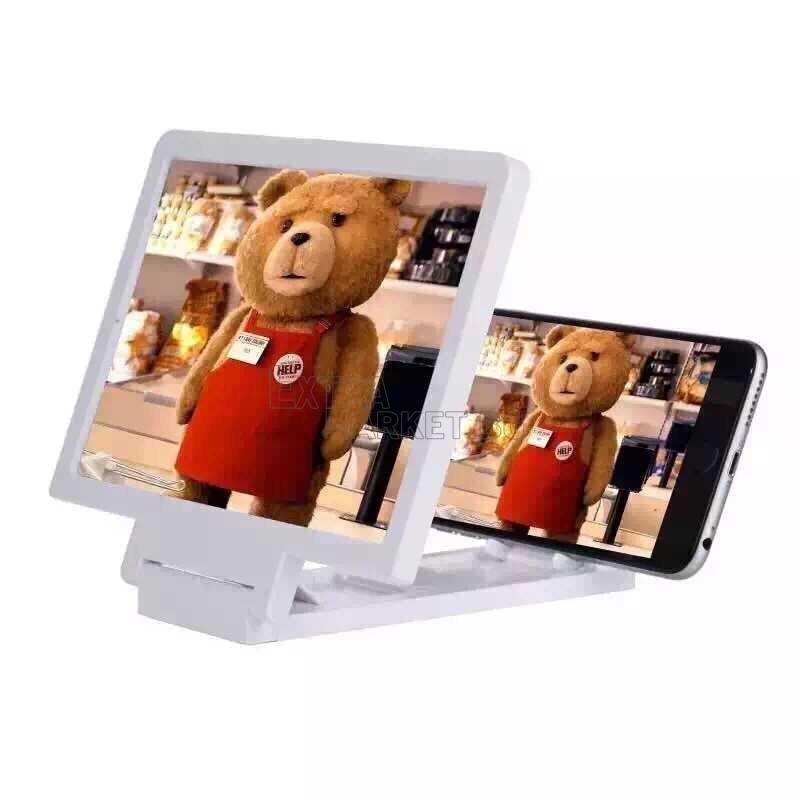 3D увеличителен екран (Лупа) за смартфон