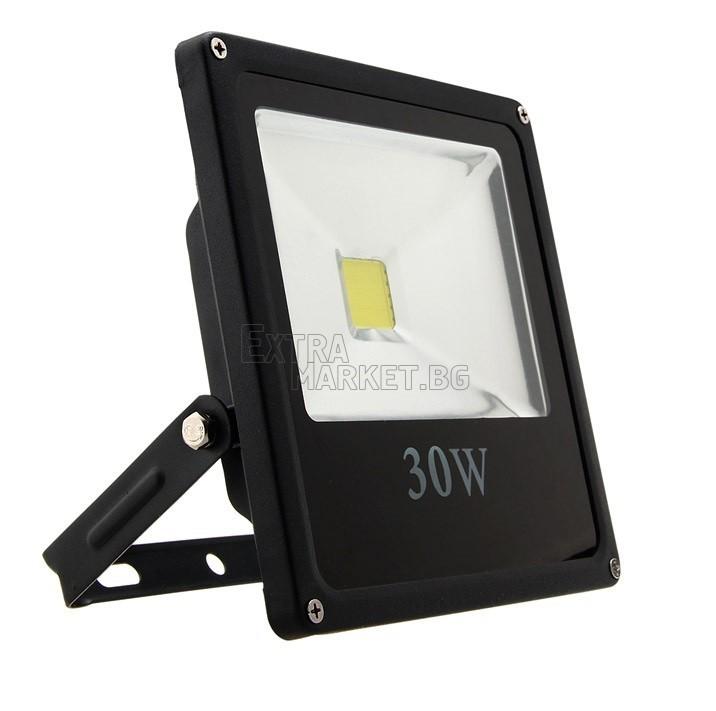 Led прожектор IP65 30W (Влагозащитен)