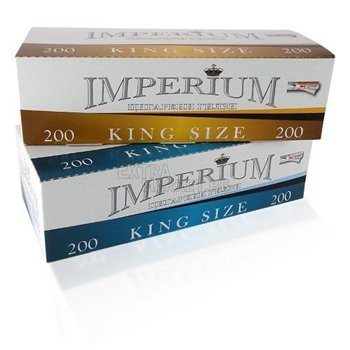 200 Premium цигарени заготовки (гилзи) кафяв филтър