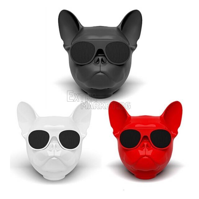 Bulldog (Aerobull) Bluetooth колонка със звук и бас на 360 градуса