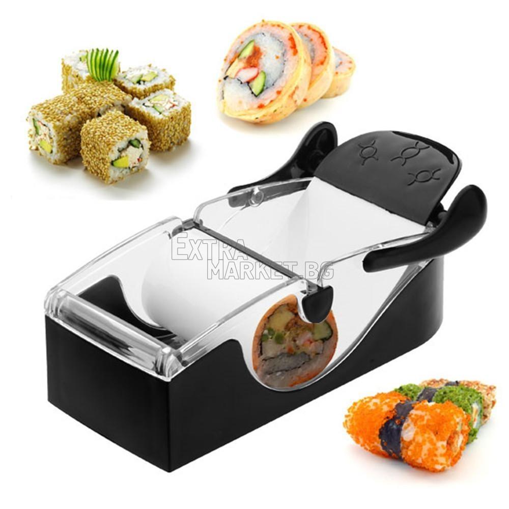 Автоматична машинка за приготвяне на суши и сърмички