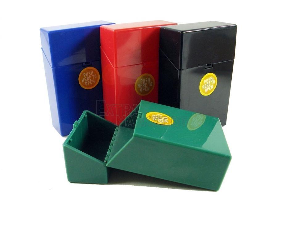 Кутия за цигари (80 мм) изработена от пластмаса