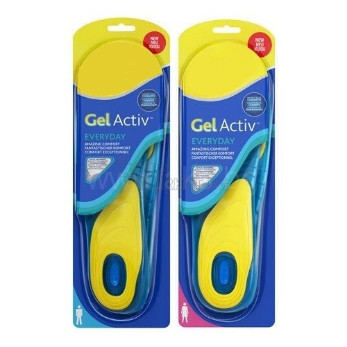 GelActiv стелки - мъжки и дамски вариант