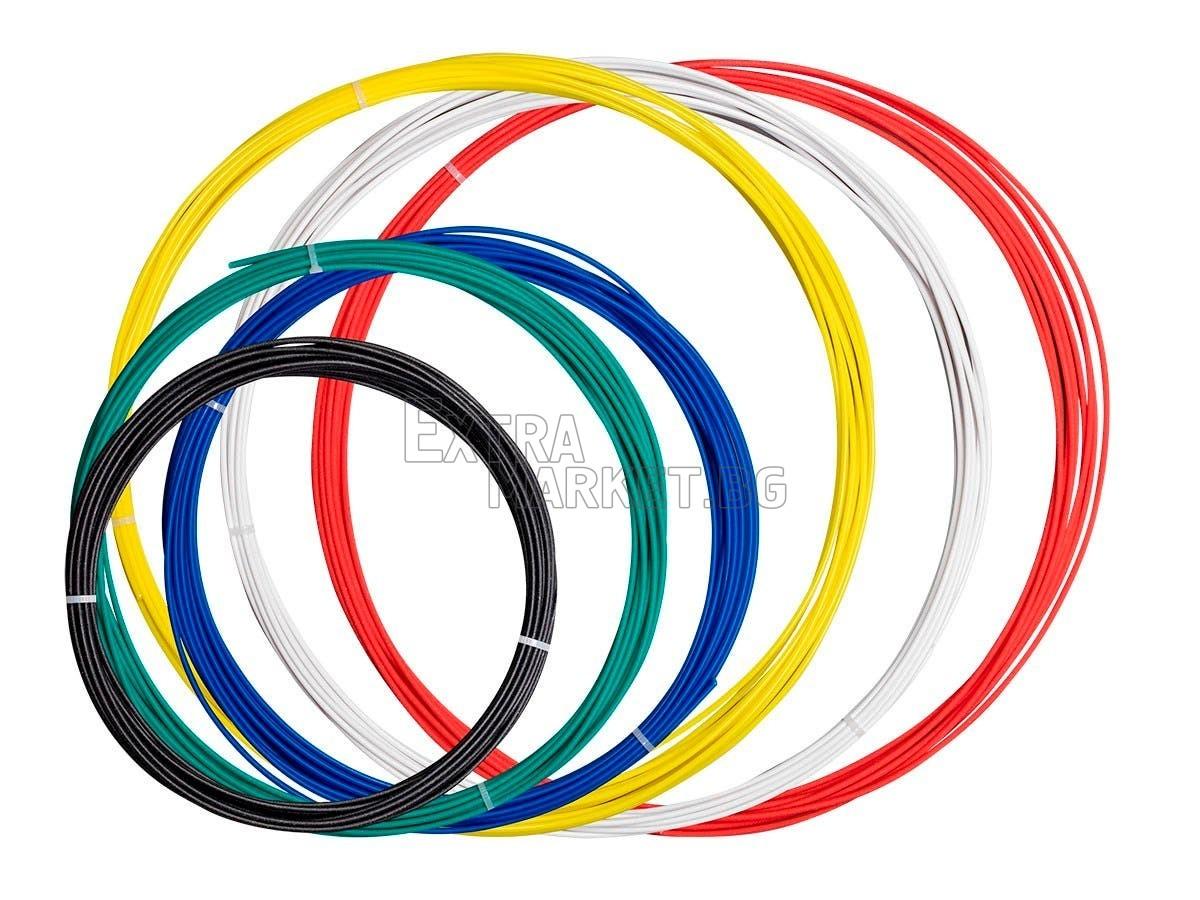 Филамен-пълнител за 3D писалка комплект (8 цвята х 10 м.)