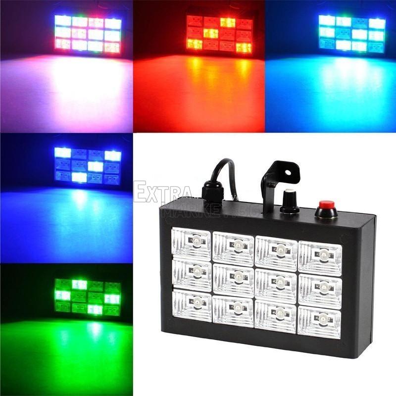Цветен диско панел за осветяване на всяко парти