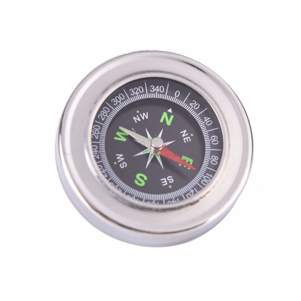 Метален кръгъл компас - влагозащитен