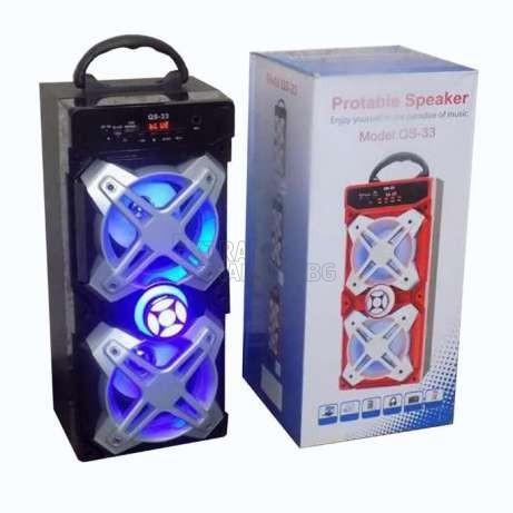 Музикална Bluetooth система с караоке функция QS-33