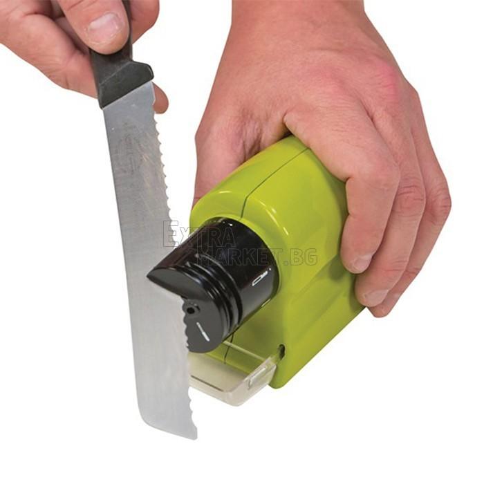 SWIFTY SHARP точило на батерии за ножици, ножове, отвертки