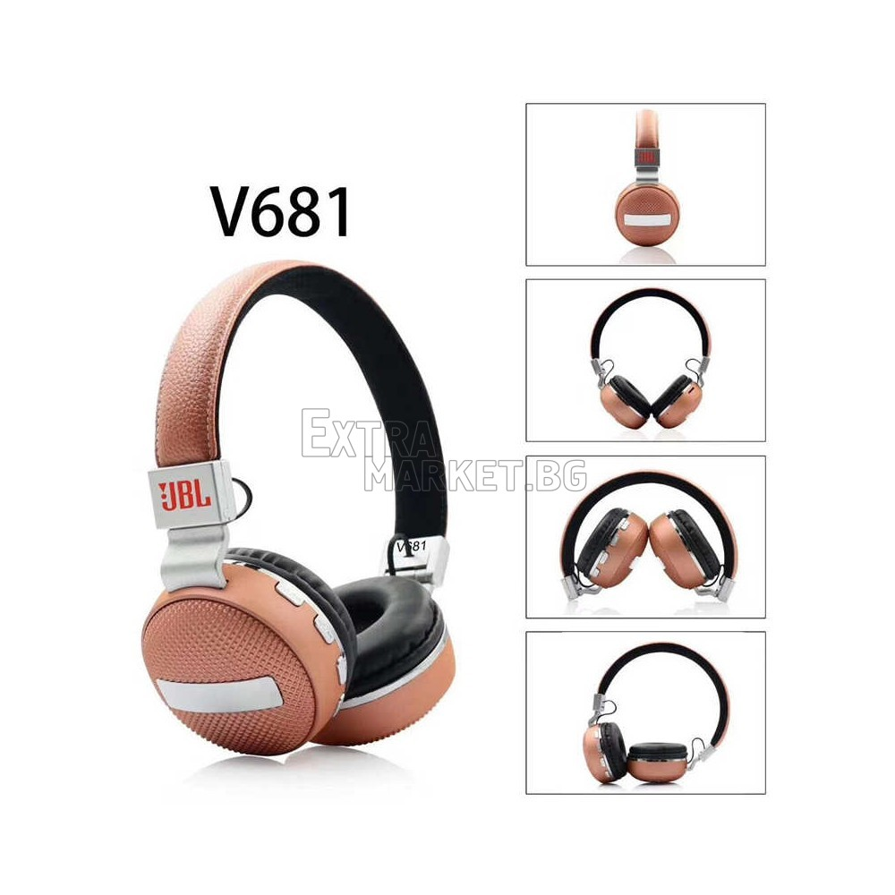 JBL Висококачествени Bluetooth-безжични Hi-Fi слушалки