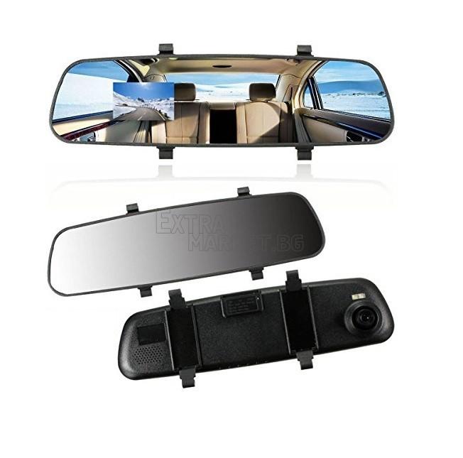 Огледало за задно виждане-видеорегистратор с вградена DVR камера.