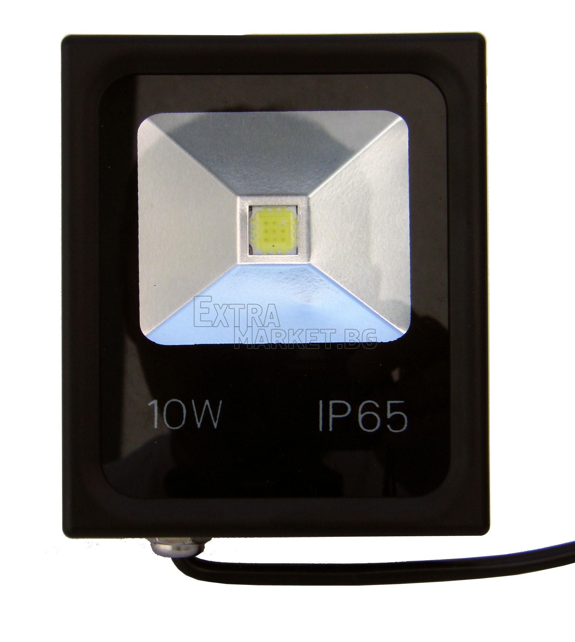 Led прожектор IP65 10W (Влагозащитен)