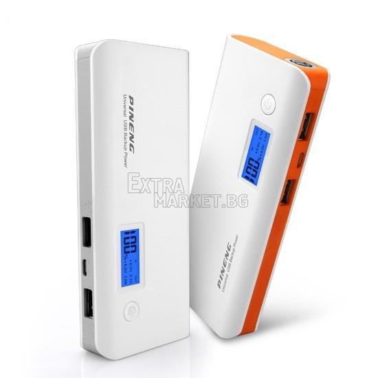 Мобилна батерия Power Bank с дисплей 10000 mah за телефон