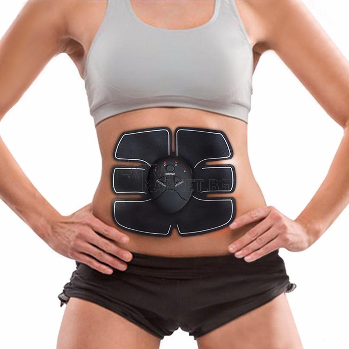 Стимулатор за стягане на коремни мускули-Six pack EMS