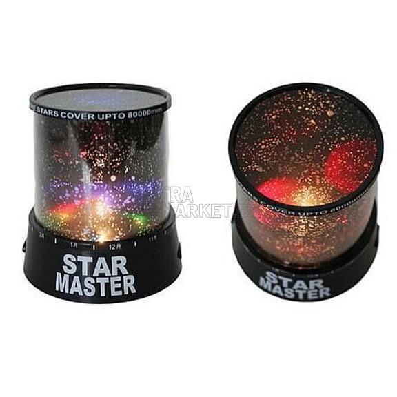 Звездна лампа-планетариум LED Star Master
