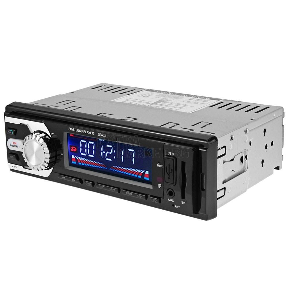 MP3 & FM радио за автомобил с USB, SD и MMC слотове
