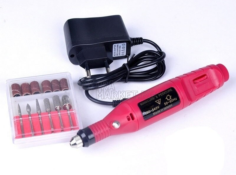 Професионална мини електрическа пила за нокти и дребни поправки
