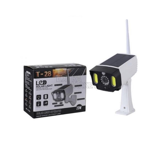 Фалшива камера с LED осветитление и соларен захранващ панел
