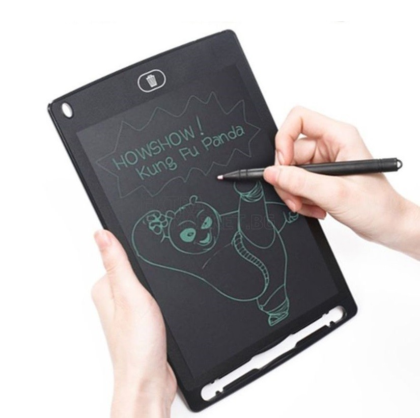 Детски таблет за рисуване и писане 12 инча с писалка